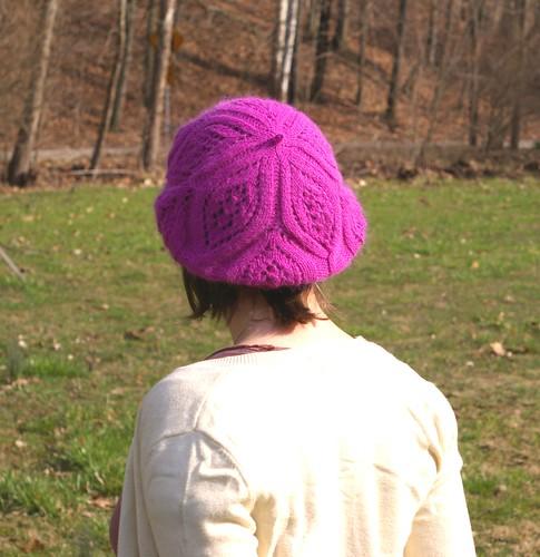 raspberry beret back