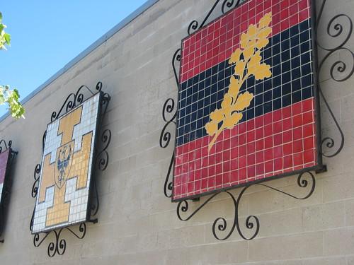 Historic German Flags, New Ulm