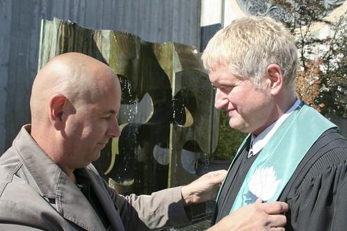 Stillman and Rev. Gregory Stewart