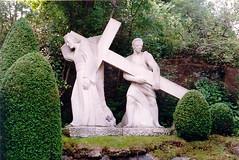 Station 5: Simon of Cyrene carries the cross