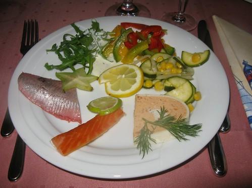 Fischbüfett im Hotel Germania 1