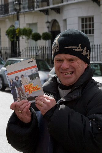 Our Beatles walk tour guide