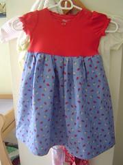 L.'s new dress - after