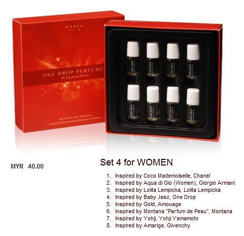 one drop perfumes