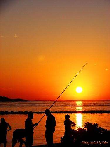 Pescatori all\'alba