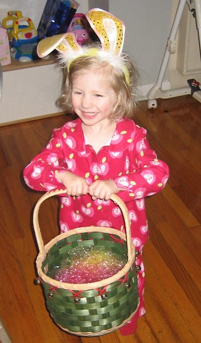 Easter treats @ home -- ready to hunt for eggs