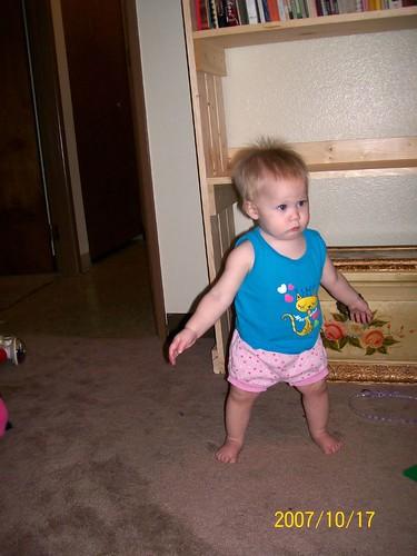 Jenny walking