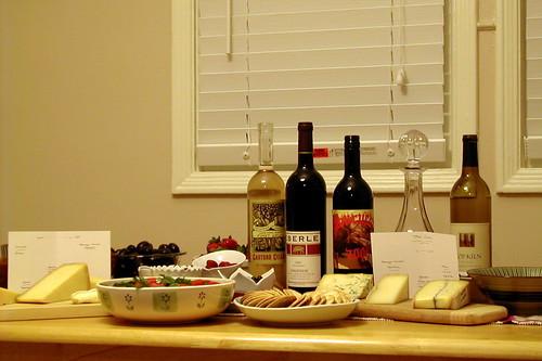 Mini wine tasting