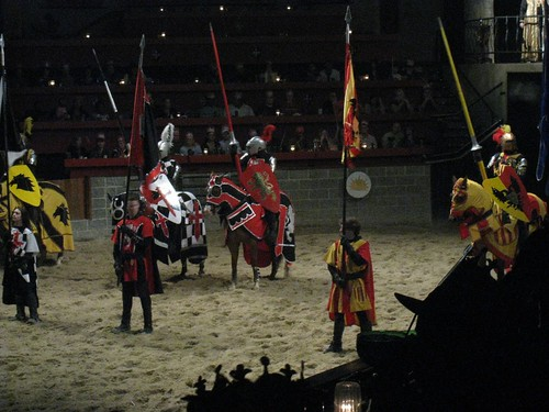 Getting ready to rumble - Medieval style