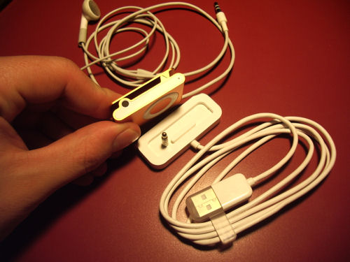 iPod Suffle para conectar