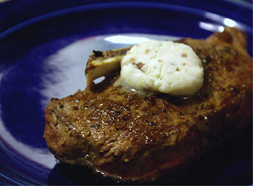 steak and anchovy butter