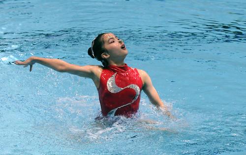 08花泳賽11-12歲組單人自選冠軍高芊
