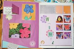 Warhol Pop Art altered book