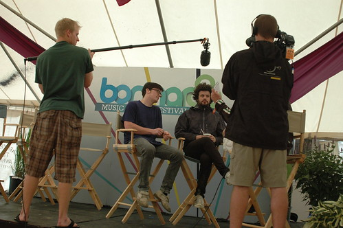 Passsion Pit interview @ Bonnaroo