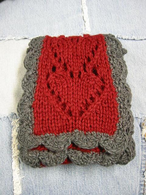 Knitting Or Crochet Better : Who knit it better heart scarves beloved knits