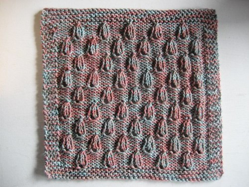 * Cute idea for a dishcloth or maybe an afghan square!  ;)