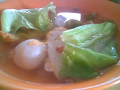 Sandakan - soup for fish noodles