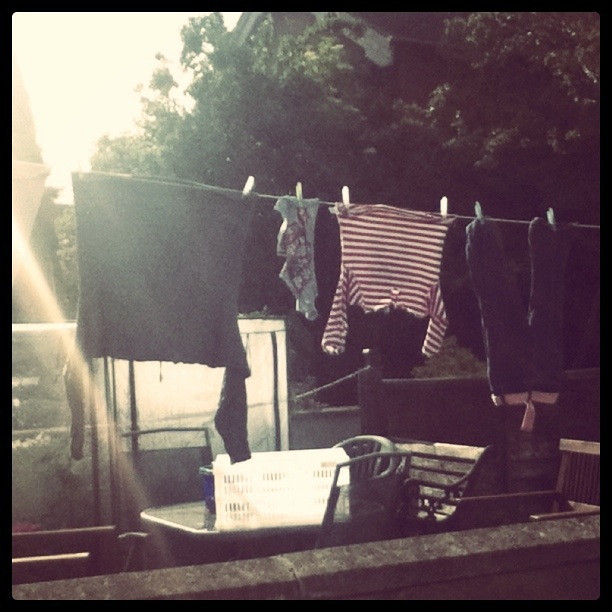 A washing line