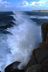 Maen Cliff wave
