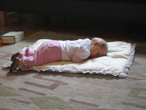 Madeleine naps