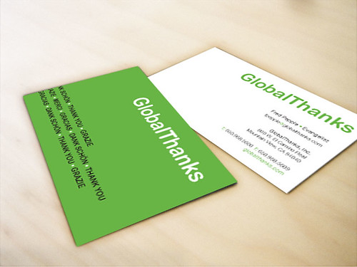 GlobalThanks Business Card