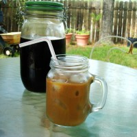 Cold-Brewed Iced Coffee, New Orleans Style