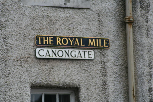 Canongate, Royal Mile, Edinburgh