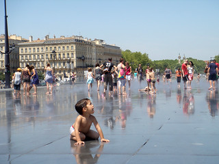 Bordeaux water mirror