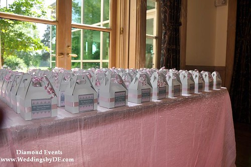 Placecards and Favors