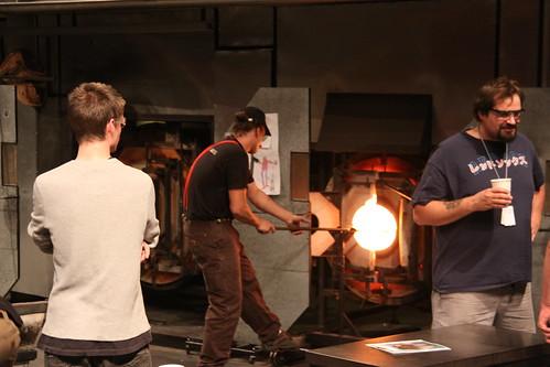 Museum of Glass hot room, Tacoma, WA
