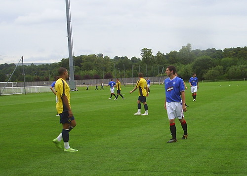 Rangers Reserves vs. Oxford United