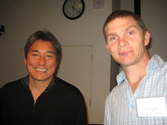 Guy Kawasaki and me