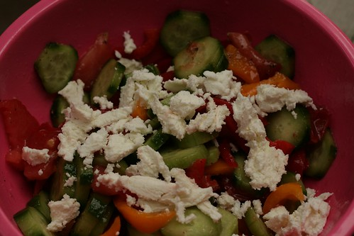 Local vegetable salad
