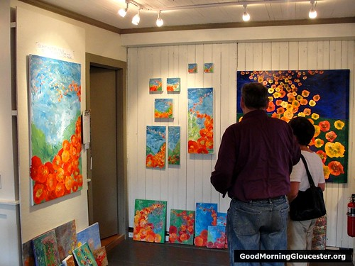 Brenda Malloy Art Opening