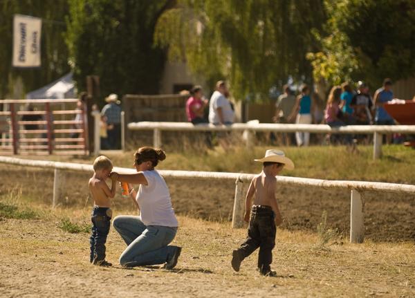 Scene at the Okanogan County Fair