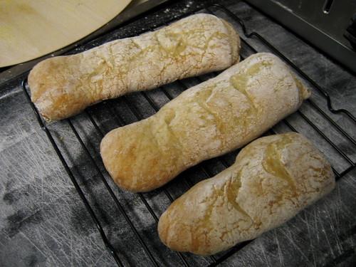 pain a l'ancienne mini baguettes