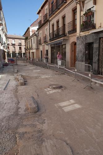 Obras en los aledaños del mercado municipal (I)
