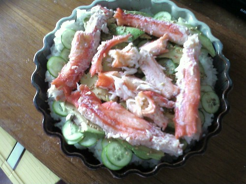 King Crab Lazy Woman Sushi