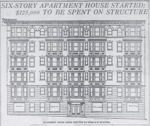 Apartment at 20th and  P, NW