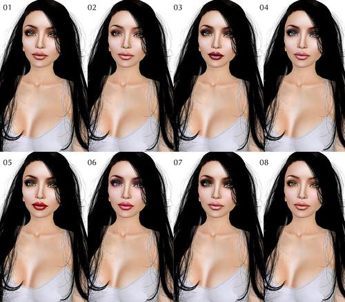 Glow Lacie milky makeups