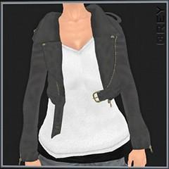 50L Friday 13 - NINIKO Soft Riders Grey Jacket