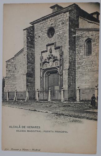 Puerta principal de la Iglesia Magistral
