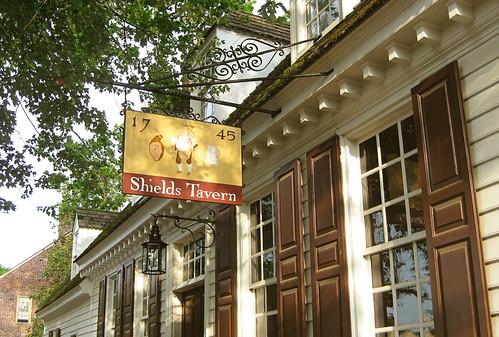 shields tavern in williamsburg
