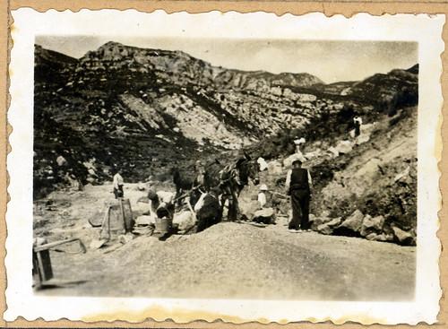 ADACAS - 02-2: Construcción de la carretera de Arguis a Nueno, Huesca. 1921-1924