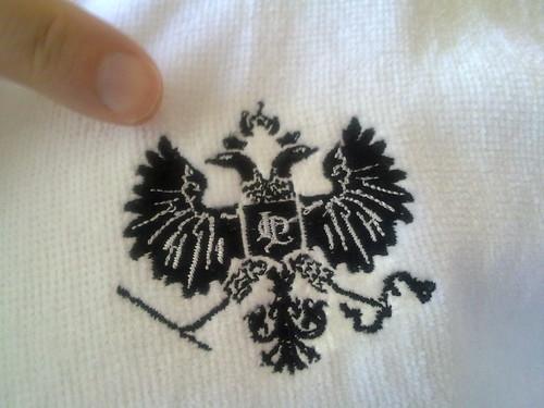 Embroidered Bathrobe