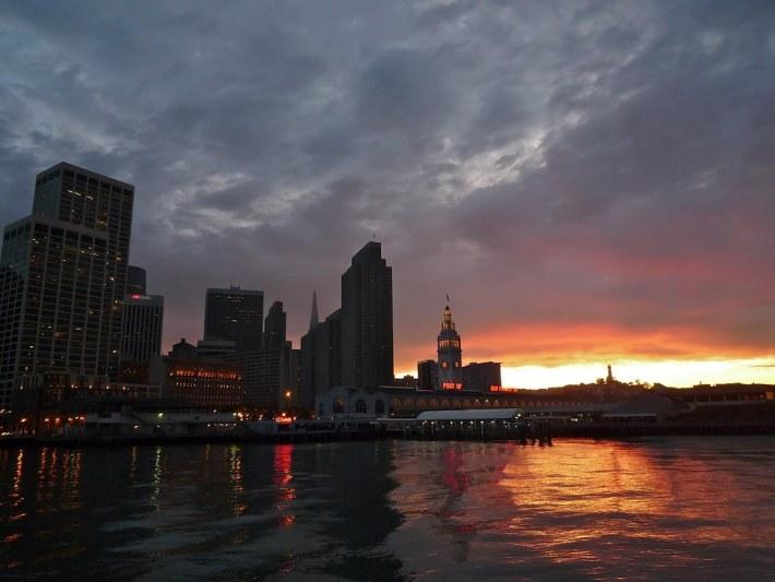 Sunset Sky San Francisco
