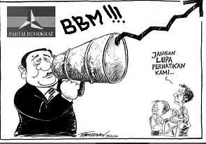 Karikatur BBM SBY