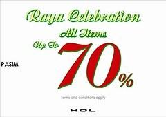 HOL Raya sale