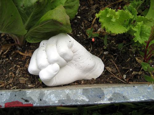 Garden fist