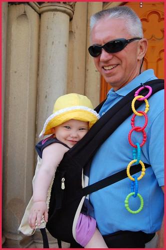 poppy & her grandfather